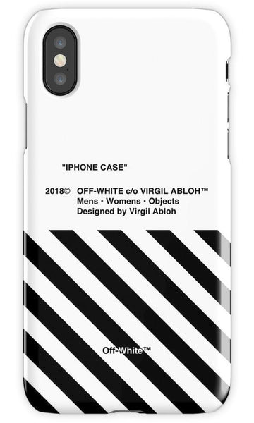 Off White 4 Mobile Cover - Local Tres