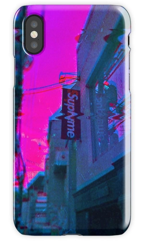 Supreme Vaporwave Mobile Cover - Local Tres