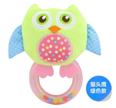 Mini Smiling Owl Baby Toy