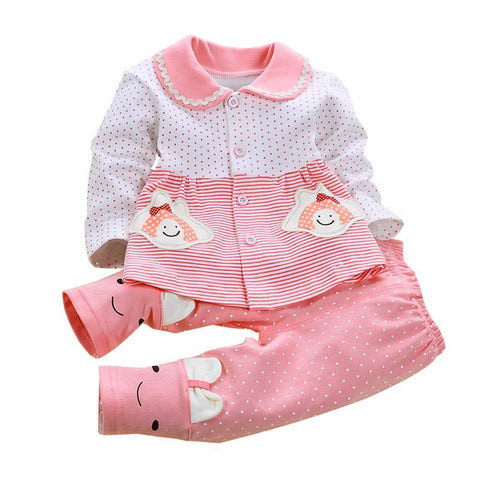 Cotton Baby Clothes Set