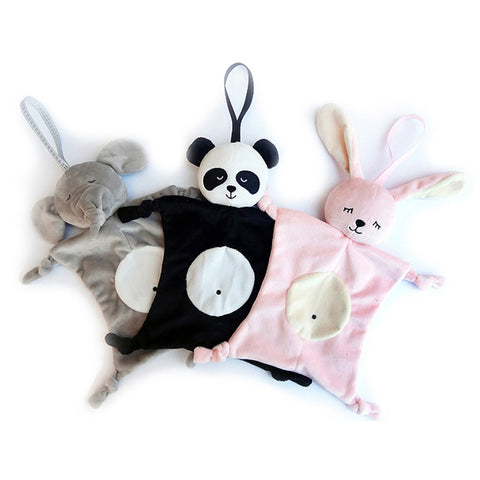 Soft Soothe Towel Plush Toys