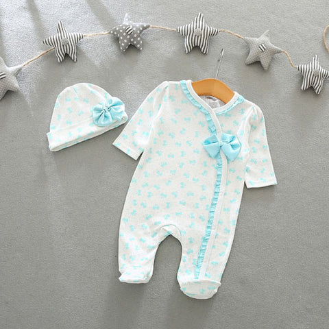Flowers Decoration Romper