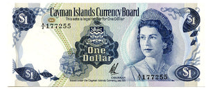 Cayman Islands $1, 1971