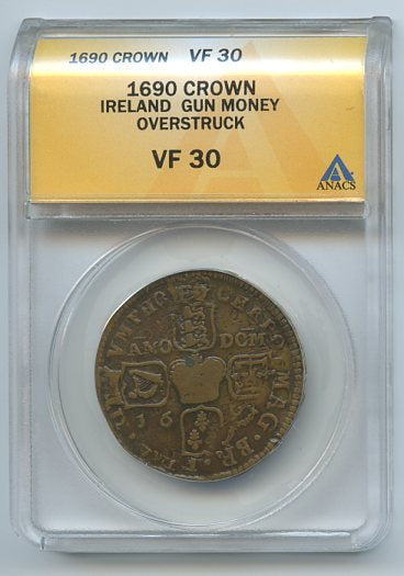 Ireland Crown Gun Money, 1690