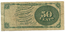 50 Cents, U.S. Fractional Currency, 4th Issue, 1869/75, FR. 1376