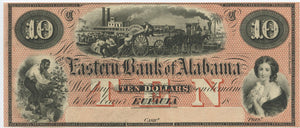 Alabama-Eufaula, The Eastern Bank of Alabama $10, 18_