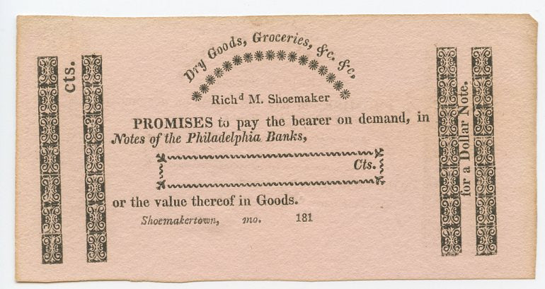 Missouri-Shoemakertown, Rich'd M. Shoemaker Dry Goods Groceries, 181_