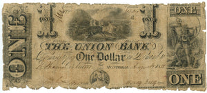 Canada-Montreal, $1 The Union Bank, August 1, 1838