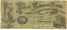 Missouri-Saint Joseph, First National Bank of National Business Colleges $20