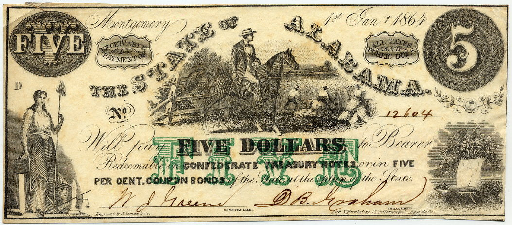 Alabama-Montgomery, The State of, $5.00