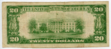 Texas-Marshall, The Marshall National Bank $20, 1929