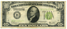 Federal Reserve Note $10 U.S., 1928-C, New York District