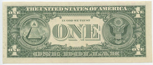 U.S. Federal Reserve Note $5, Error- Insufficient Inking Obverse