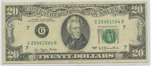 U.S. Federal Reserve Note, 1977, FR. 2072-G