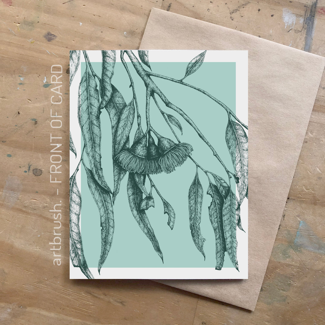 artbrush 'Botanical' card