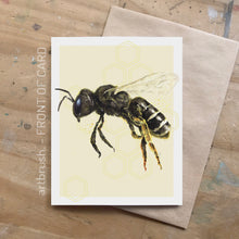 artbrush 'Honey' card