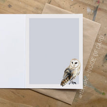 artbrush 'Olive the Owl' card