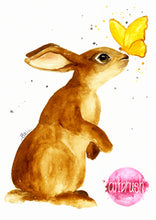 artbrush 'Butterfly Bunny' print * RETIRED PRINT ONLY AVAILABLE ONLINE *
