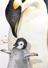 artbrush 'Trove Penguins' ORIGINAL