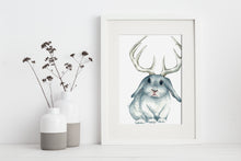 artbrush 'Jackalope' print * RETIRED PRINT ONLY AVAILABLE ONLINE *