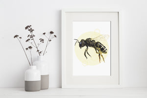 artbrush 'Honey' print (Bee)