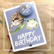 artbrush 'Birthday Badge Card'