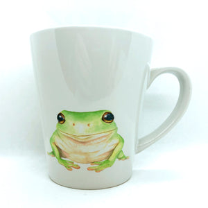 artbrush mug 'OZ SERIES Green Tree Frog'