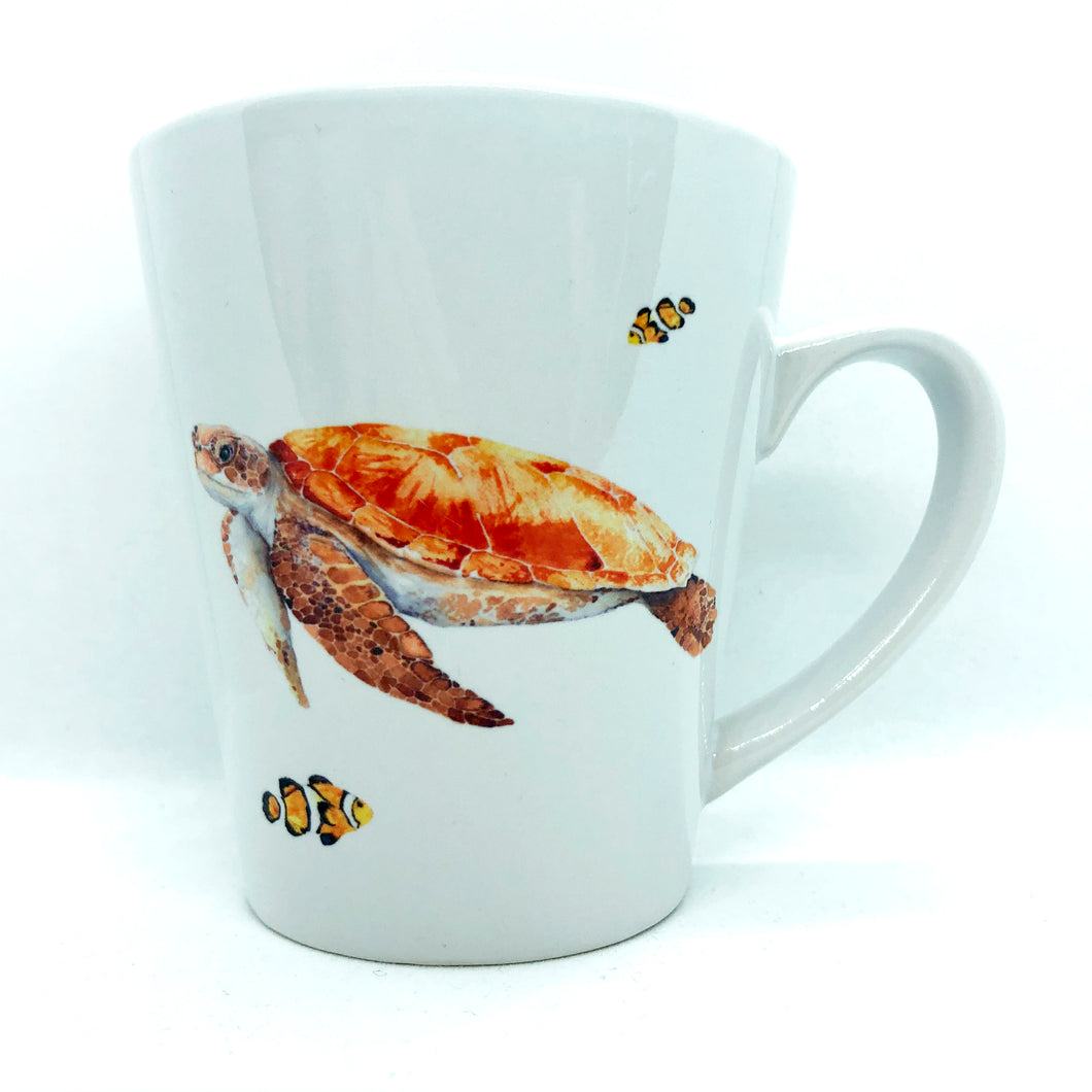 artbrush mug 'OZ SERIES Sea Turtle'