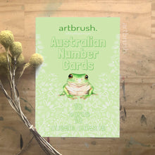 artbrush 'Australian Number Flashcards'