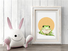 artbrush Oz Series 'GREEN TREE FROG' print