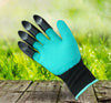 Green Garden Digging Gloves