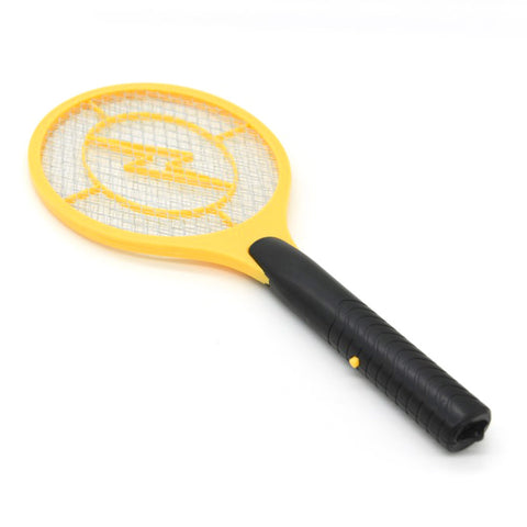 Battery-operated Fly Swatter Electronic Mosquito Pest Control with Long Handle