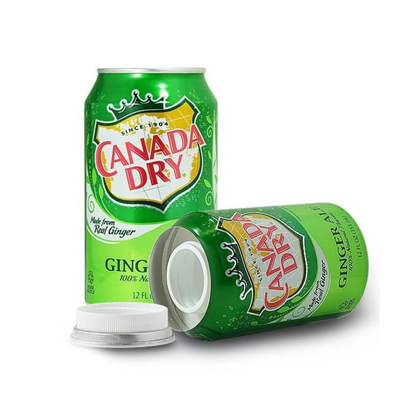 Canada Dry Stash Safe Can