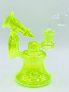 UV Glow in the Dark Recycler Dab Rig