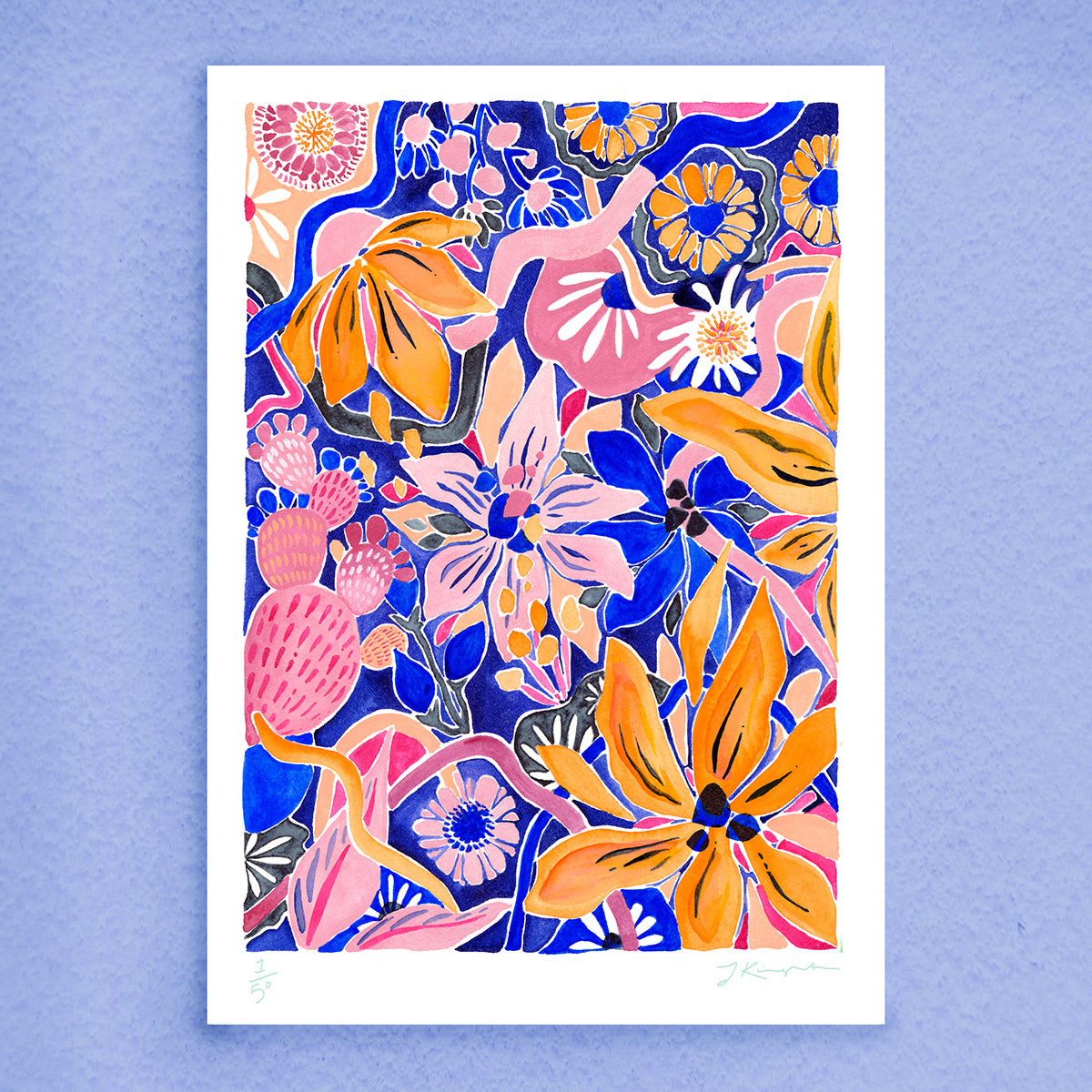 Colour Bomb Print (Limited Edition)