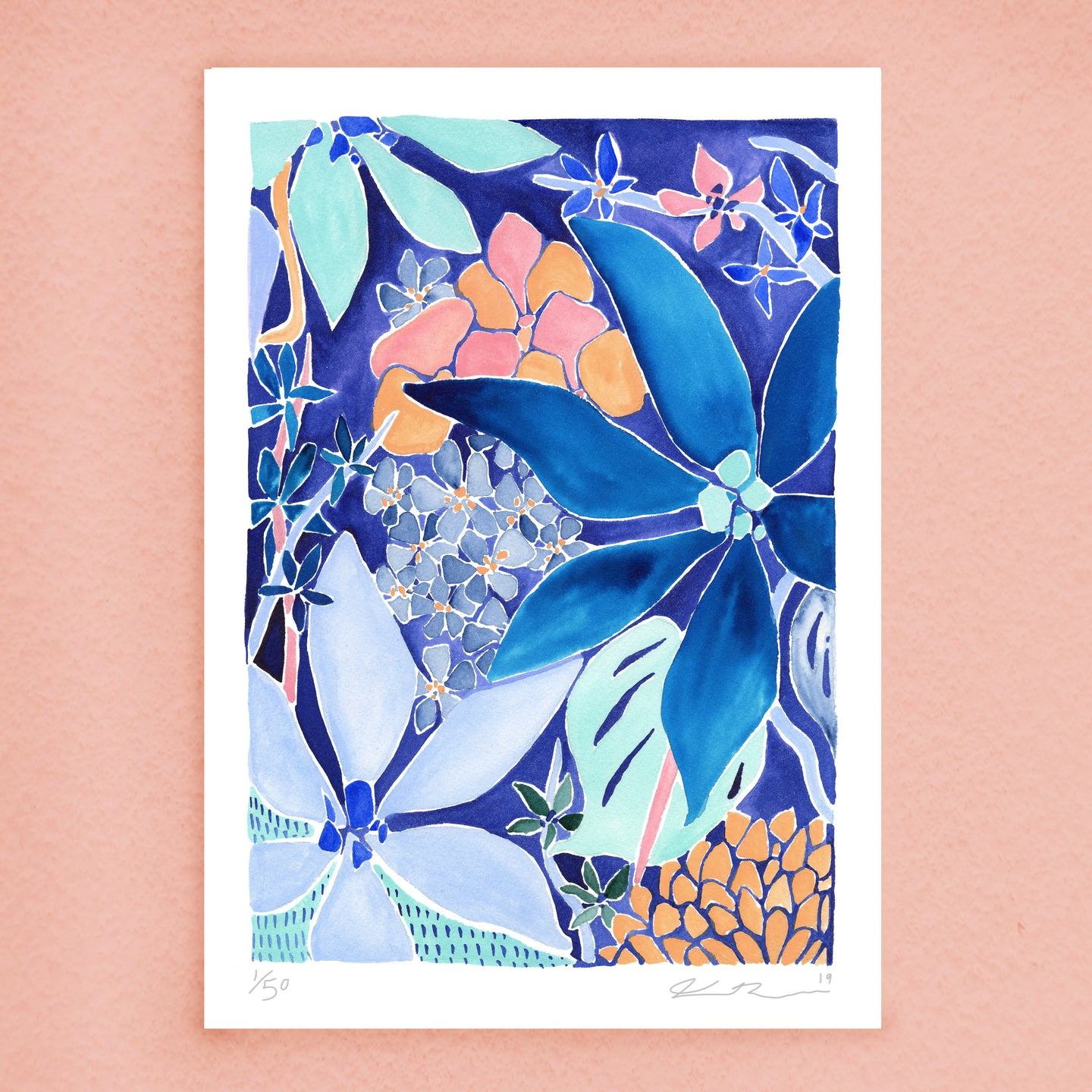 Flower Power Print (Limited edition)