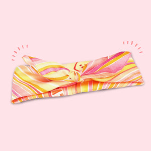 100% Silk Hello Sunshine Scarf