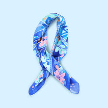 100% Silk Flower Scarf - coming back soon