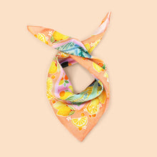 100% Silk Lemon Lady Scarf