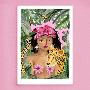 Leopard Lady Print (Limited Edition)