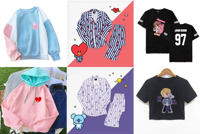 BT21 Clothing
