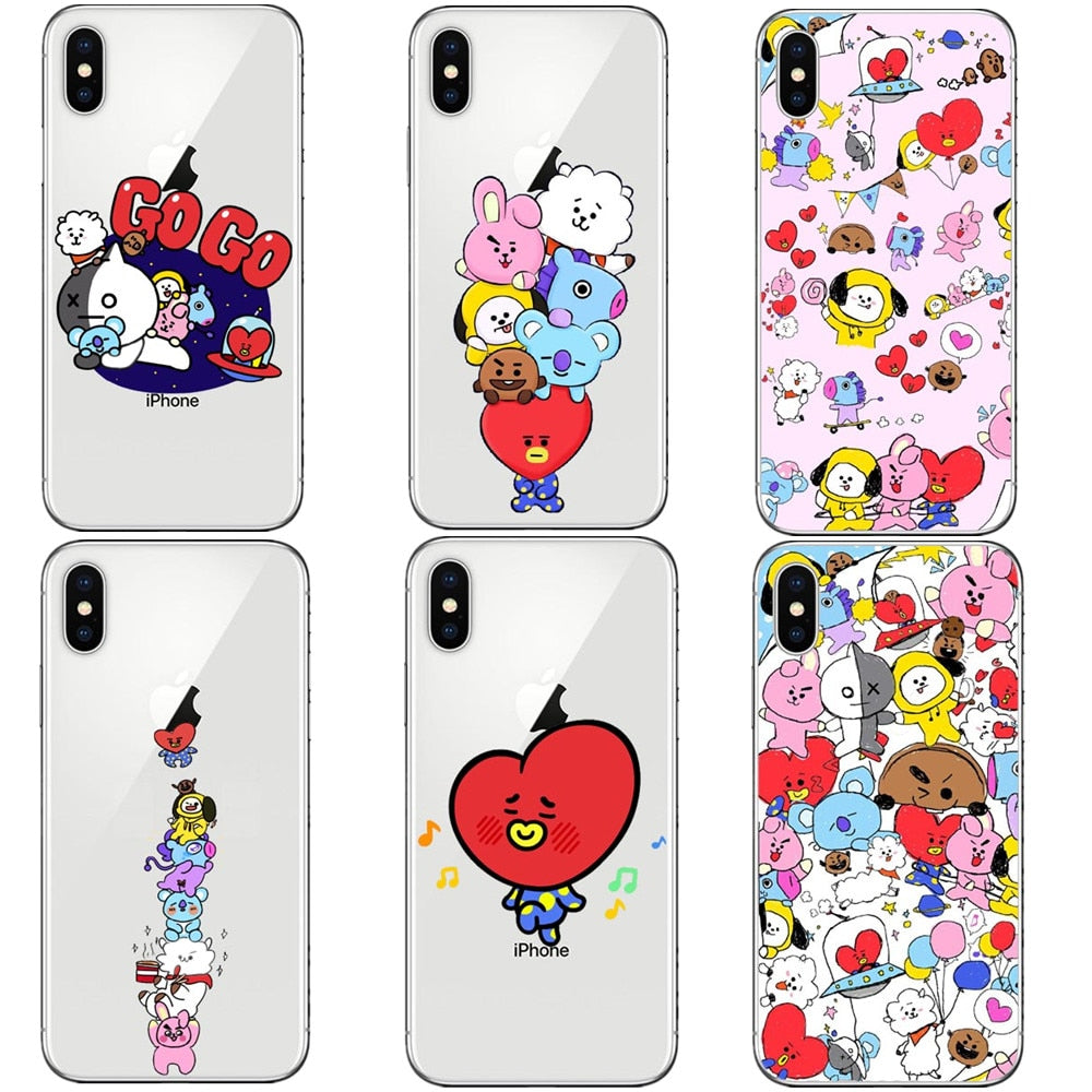 new product 728a8 3a223 BT21 iPhone Case (7/8, 7/8 Plus, X, XS, XR, XS Max)