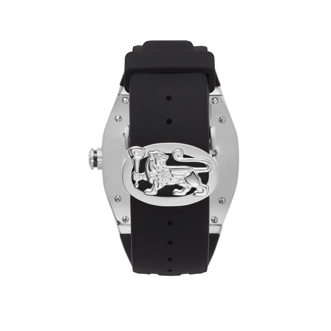 Alpha C-23 Steel & Black Diamond Watch