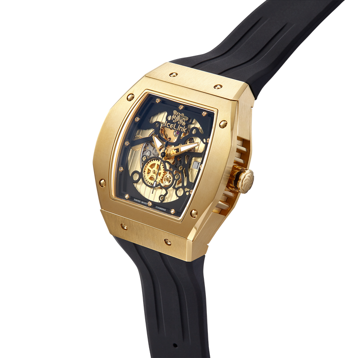 Alpha C-23 Gold & Black Watch