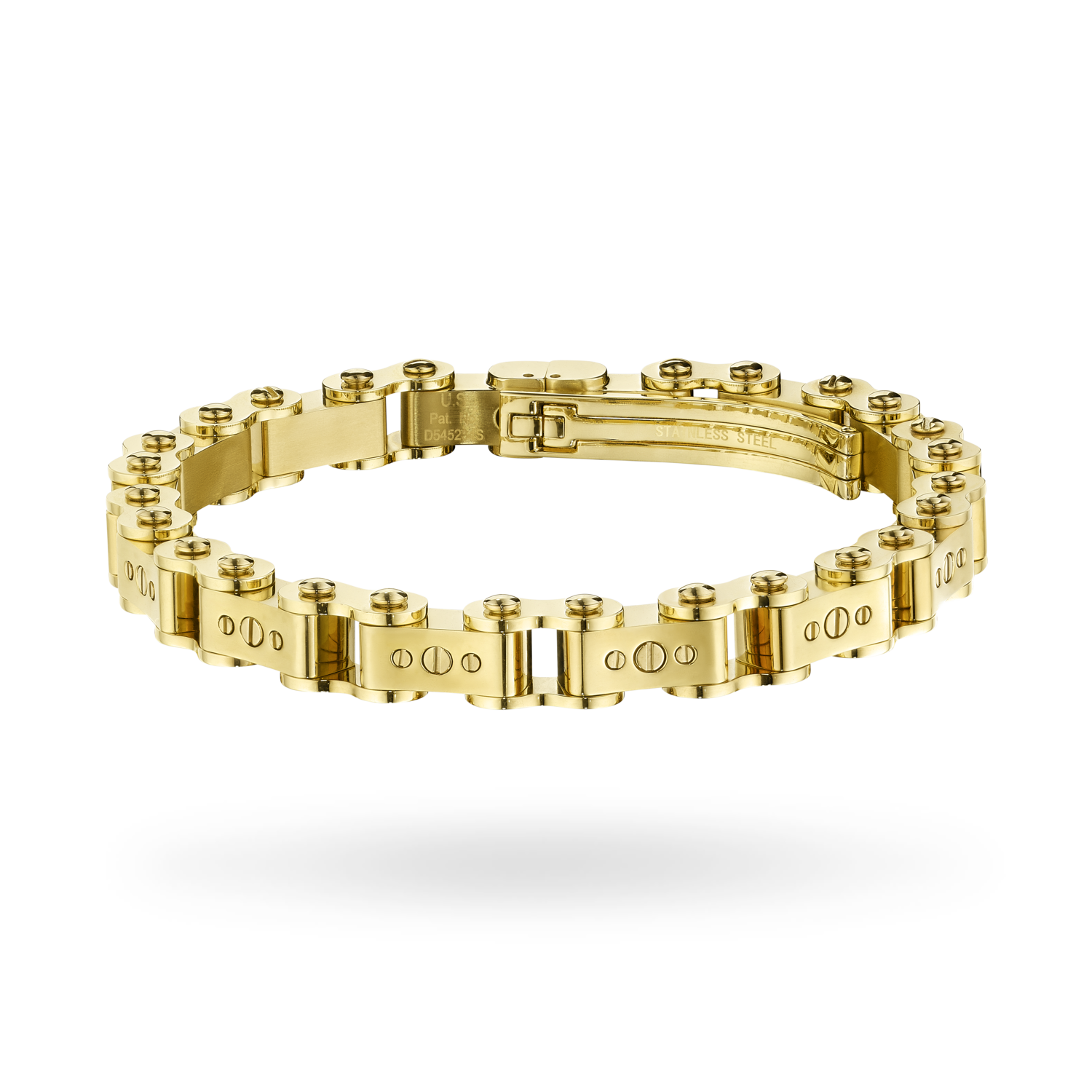 Men's Gold 9.5mm Bicycle Bracelet