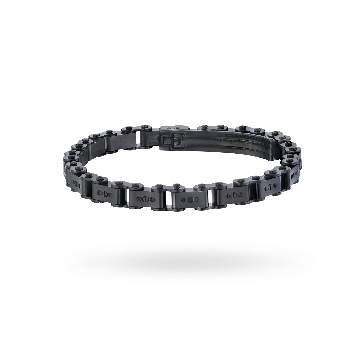 Black PVD 6MM Bicycle Bracelet