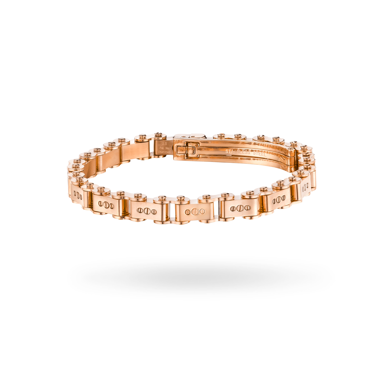 Rose Gold 6MM Bicycle Bracelet