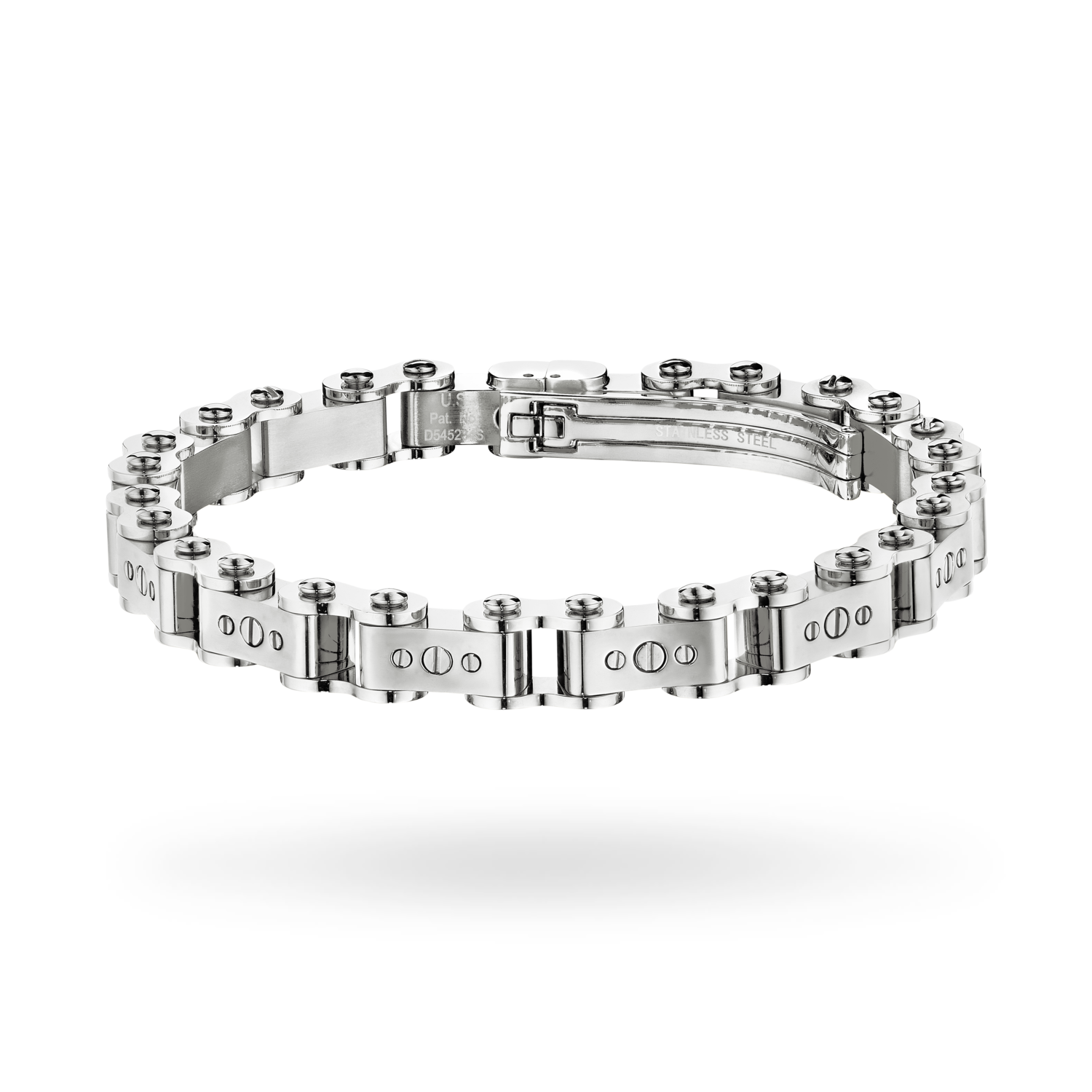 Men's Steel 9.5MM Bicycle Bracelet