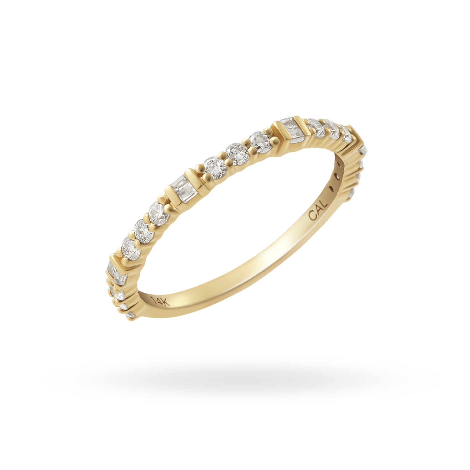 14K Gold Vintage Diamond Ring