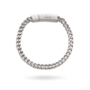 White Gold Franco Bracelet 5mm